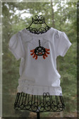 Damask Ric Rac Spider Tees