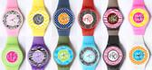Monogrammed Plastic Wrist Watch  www.tinytulip.com