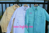 Monogrammed Fishing Shirt Long Sleeve PFG   www.tinytulip.com