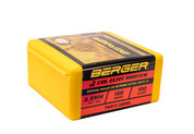 156 GRAIN ELITE HUNTER 6.5MM (.264 DIAMETER) BERGER HUNTING BULLETS 264 CALIBER (BOX OF 100)