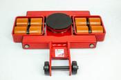 "Model AL 6G  Front Steerable Rollers ""G"" Series   24,000-lb Capacity"