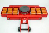 "Model AL 9G  Front Steerable Rollers ""G"" Series  36,000-lb Capacity"