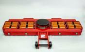 "Model AL 12G  Front Steerable Rollers ""G"" Series   48,000-lb Capacity"