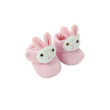 Small Pink Bunny Slippers