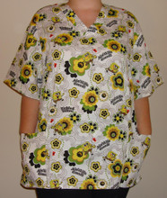 Spongebob Printed Scrub Top.