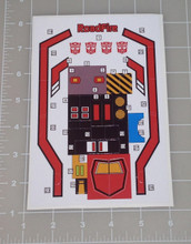 G1 Roadfire C-353 Complete Sticker Sheet
