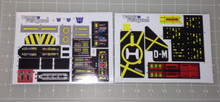 G1 Zone Metrotitan Complete Sticker Sheets.