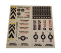 GI Joe Rolling Thunder Armored Assault Vehicle Sticker Sheet