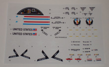 GI Joe Tomahawk Helicopter Sticker Sheet