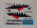 GI Joe Tiger Fish Sticker Sheet