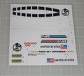 GI Joe Phantom X-19 Stealth Fighter Sticker Sheet