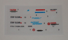 GI Joe Outpost Defender Sticker Sheet
