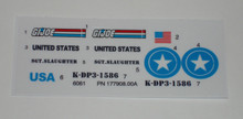 GI Joe Triple T Sticker Sheet