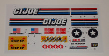 GI Joe Raider Sticker Sheet