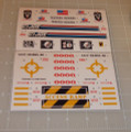 GI Joe General Sticker Sheet