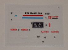 GI Joe Bivouac Battle Station Sticker Sheet
