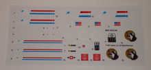 GI Joe Mean Dog Artillery Vehicle Sticker Sheet