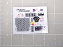 Transformers G1 Ransack sticker sheet