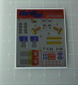 Diaclone Jet Robo super-high-speed Fighter Type Sticker Sheet
