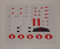 G.I. Joe Cobra FANG Sticker Sheet
