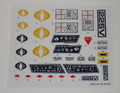 GI Joe Cobra Mamba Sticker Sheet
