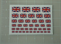GI Joe England UK Union Jack Flag World War Custom Sticker Sheet