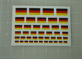 German Flag World War Custom Sticker Sheet