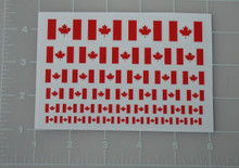 Canadian Flag World War Custom Sticker Sheet