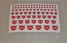 G2 Autobot Red Logo Sticker Sheet