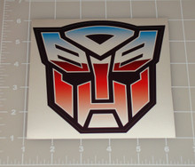 "Transformers Logo 5x5"" Vehicle Decal"