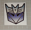 "Transformers Decepticon Logo 5x5"" Vehicle Decal"