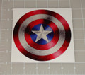 "Captain America Logo 5x5"" Vehicle Decal"