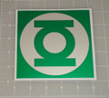"Green Lantern Logo 5x5"" Vehicle Decal"