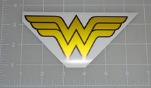 "Wonder Woman Logo 5x2.5"" Vehicle Decal"