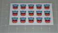 Autobot Logo Envelope Seal Sticker Sheet
