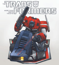 Transformers G1 Optimus Prime Poster Canvas
