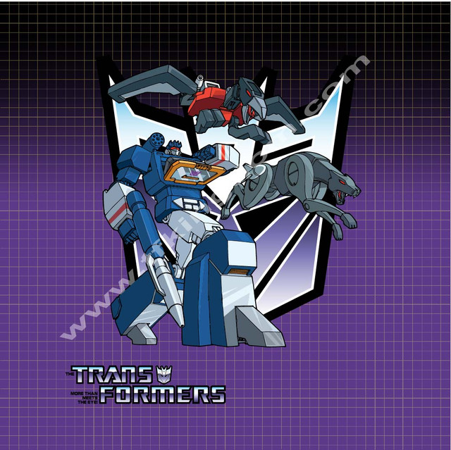 Transformers Soundwave poster print