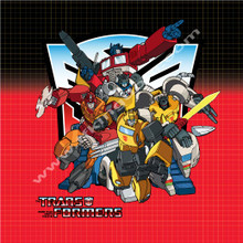 Transformers G1 Optimus Prime Bumblebee Jazz Hot Rod Grimlock Poster Canvas