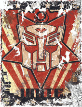 Transformers G1 Autobot Poster Canvas