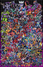 Transformers G1 Decepticons Box Art Poster Canvas