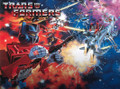 Transformers G1 Decepticons 1984 Box Art Poster Canvas
