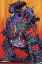 Transformers G1 Trypticon Poster Canvas