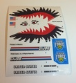 GI Joe Tiger Shark Sticker Sheet.