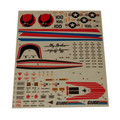 GI Joe Skystriker XP-14F Sticker Sheets