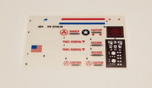 GI Joe Whirlwind Sticker Sheet