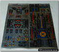 Transformers G1 Fortress Maximus Sticker Sheet.