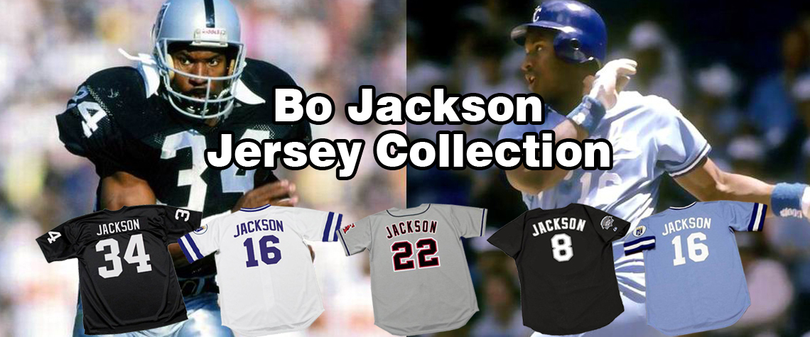Bo Jackson Throwback Jerseys