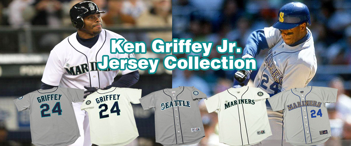 Ken Griffey Jr. Throwback Baseball Jerseys