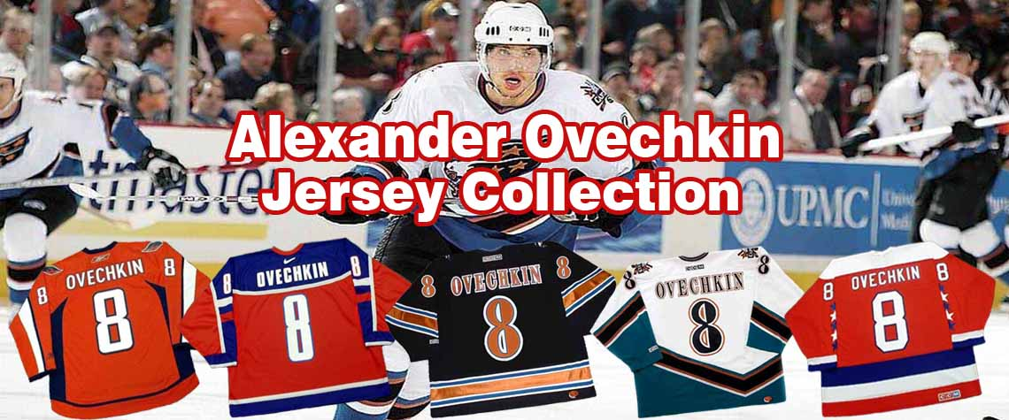 Alexander Ovechkin Throwback Hockey Jerseys