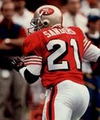49ers Sanders Throwback NFL Jersey
